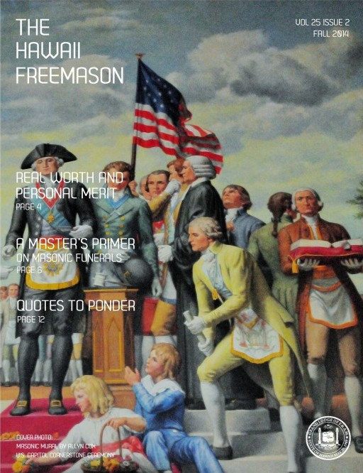 Hawaii Freemason - Fall 2014 Cover